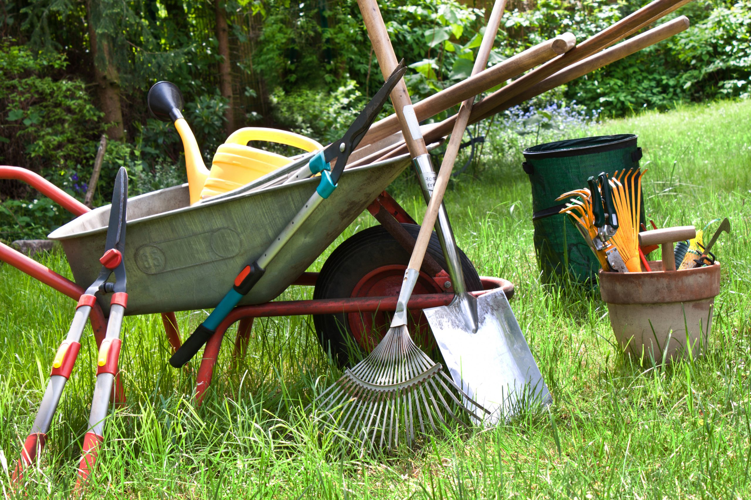 Ugly Garden Tools